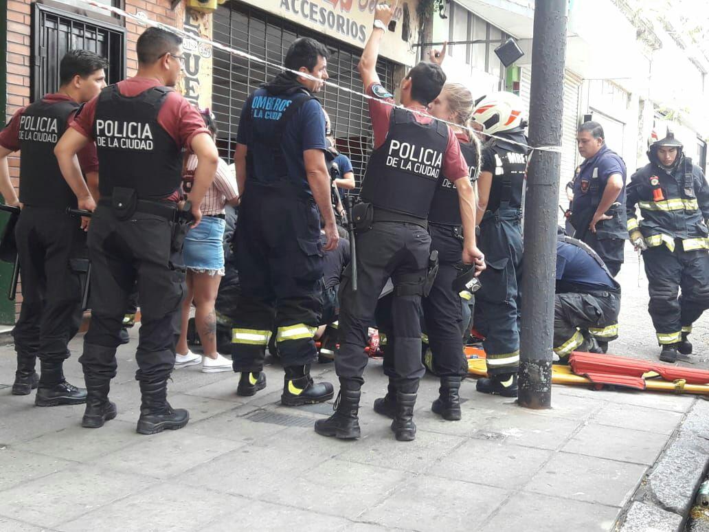 Un Nene Cayó De La Terraza De Un Hotel En Belgrano Y Urquiza